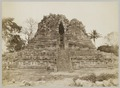 KITLV 12221 - Kassian Céphas - West side of the Shiva Temple of Prambanan near Yogyakarta - 1889-1890.tif