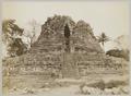 KITLV 12221 - Kassian Céphas - West side of the Shiva Temple of Prambanan near Yogyakarta - 1889-1890.tif