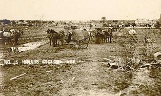 Hollis, Kansas - 1909 tornado damage