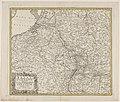 Kaart van de Nederlanden en een deel van Frankrijk en Duitsland Belli ab obitu Caroli VI imperatoris usque ad pacem Dresdae (titel op object), RP-P-AO-19B-22.jpg