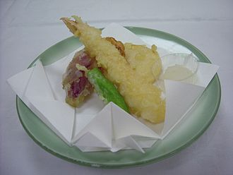 Nanban trade - Shrimp tempura