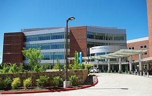 Kaiser Westside Medical Center - Main entrance