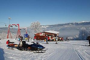 Jablonec nad Jizerou - Skiareal in Jablonec nad Jizerou