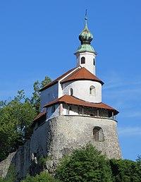 Kamnik Slovenia - Little Castle chapel.JPG