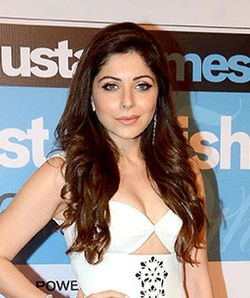 Kanika Kapoor at HT Most Stylish Awards 2016.jpg