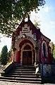 Kaplica rodziny Miłkowskich na cmentarzu parafialnym w Gorlicach..jpg