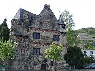 Treis-Karden - Karden, Moselstraße 18: former Electoral-Trier Amtshaus