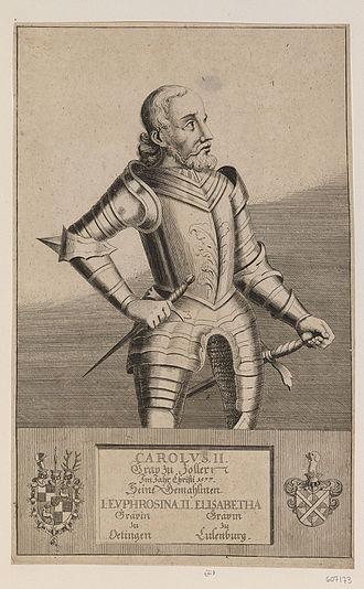 Charles II, Count of Hohenzollern-Sigmaringen - Charles II, Count of Hohenzollern-Sigmaringen