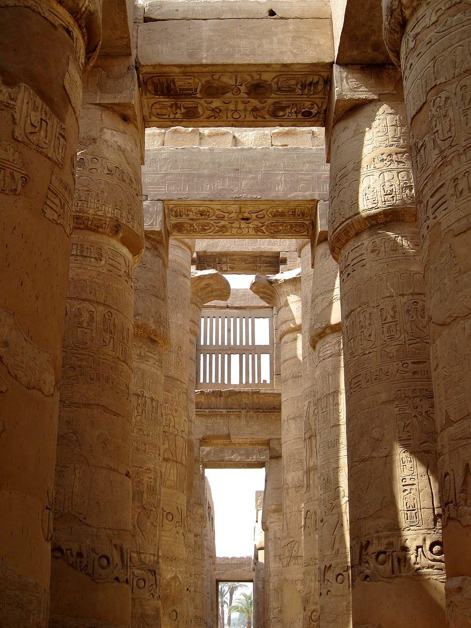 Karnak Tempel Hypostyl 05