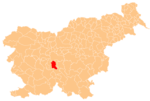 The location of the Municipality of Ig