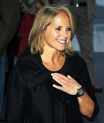 English: Katie Couric at the Tony Bennett Birt...