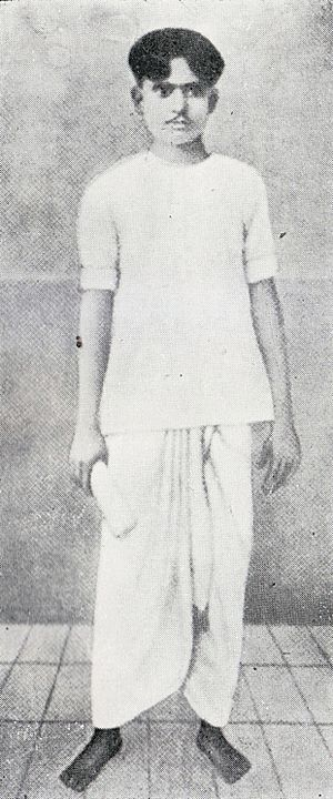 Kazi Nazrul Islam - Nazrul at his early age