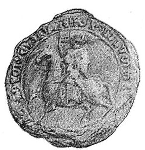 Casimir I of Kuyavia - Casimir I of Kuyavia's Seal.