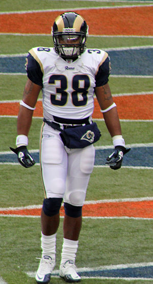Keith Toston - Toston with the Rams
