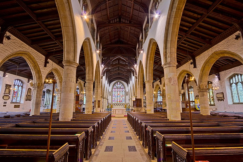 File:Kendal Parish Church, Kendal, United Kingdom (Unsplash).jpg