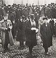 Kenraalikuvernööri Stahovitsh ja Oskari Tokoi palaamassa valtiopäivien avajaisjumalanpalveluksesta 11.4.1917.jpg