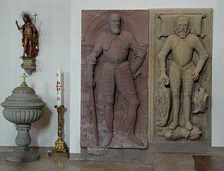 dalle funéraire de Jean Guillaume de Schwendi à Kientzheim