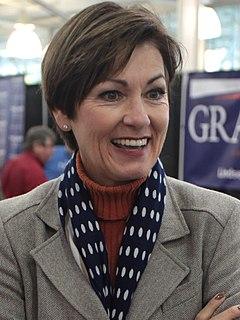 Kim Reynolds 43rd Governor of Iowa