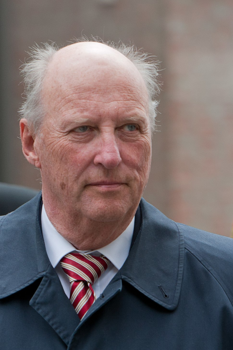 King Harald V of Norway Trondheim2010- 1