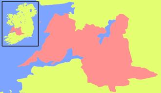 Thomond deeds - Location of the Kingdom of Thomond