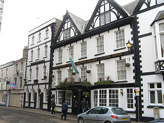 Kings Head Hotel, Monmouth - Image: Kings Head Monmouth