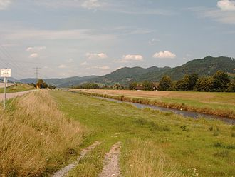 Kinzig (Rhine) - The Kinzig near Biberach