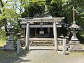 Kitamon Miyajidake Shrine in Hirume Shrine in Nakatsu, Oita.jpg