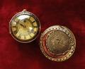 Klocka, T. Tompion, ca 1680 - Livrustkammaren - 21921.tif