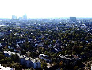 Lindenthal, Cologne - aerial view of Lindenthal