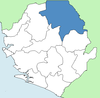 Koinadugu District Sierra Leone locator.png