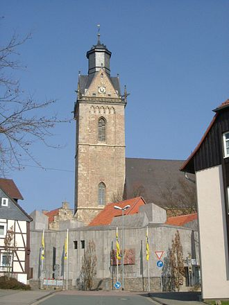 Korbach - Kilianskirche church.