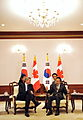 Korea-Canada Summit (December 2009) (4348469448).jpg