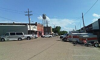 Kosse, Texas - Downtown Kosse