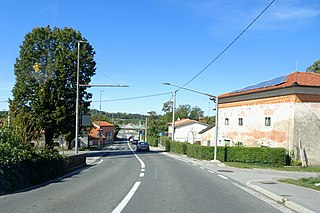 Kozina Place in Littoral, Slovenia
