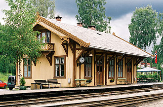 Georg Andreas Bull - Krøderen Station