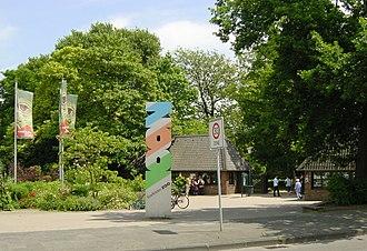 Krefeld Zoo - Entrance