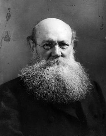 Peter Kropotkin was influential in the development of anarcho-communism Kropotkin2.jpg