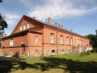 Kudina Village in Jõgeva County, Estonia