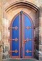 Kugelkirche Marburg 07 Tür.jpg