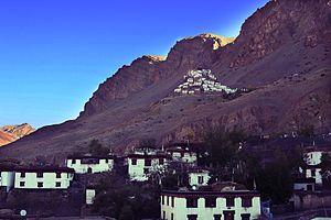 Key Monastery - Image: Kye Monastery
