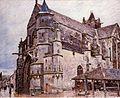 L'eglise de Moret by Alfred Sisley 1894 - panoramio.jpg
