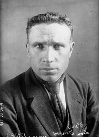 Léon Devos (cyclist) - Léon Devos in 1926