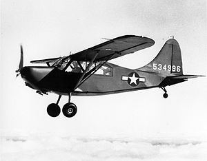 Mission Over Korea - The Stinson L-5 Sentinel was prominently featured in Mission Over Korea.