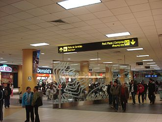 Jorge Chávez International Airport - Food court