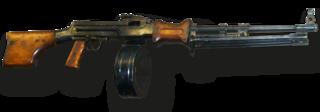 RPD machine gun Light machine gun