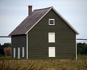 Phillips Potato House - Image: LR Walls Phillips Potato House Ext 2