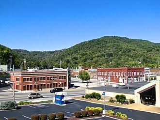 LaFollette, Tennessee - Buildings along Central Avenue (U.S. Route 25W)