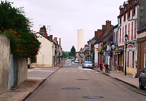 La Bussière, Loiret - The main road in La Bussière