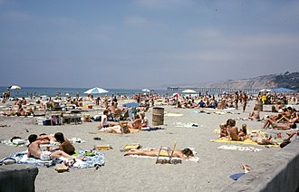 La Jolla Shores - Image: La Jolla Shores Beach July 1978
