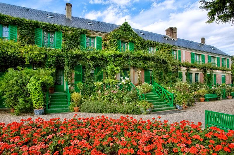 Fichier:La Maison vue du Clos Normand.jpg